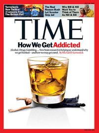 اعتیاد روی جلد مجله تایم