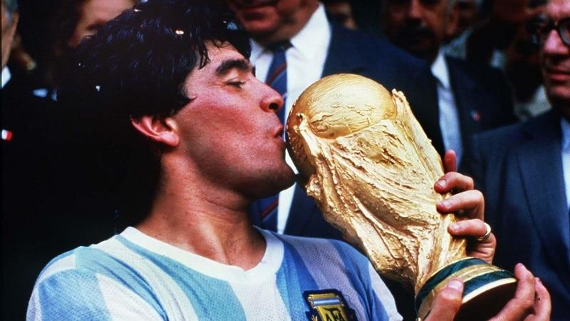 اعتیاد مارادونا کاپیتان جام جهانی 1986