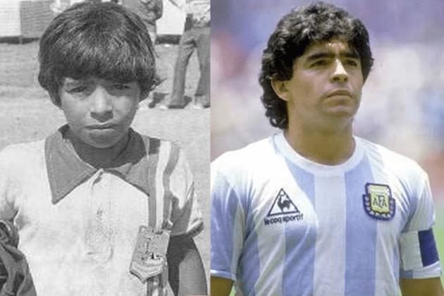 مارادونا فوتبال را از زیر خط فقر آغاز کرد
