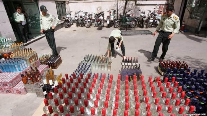 مصرف مشروبات الکلی در ايران
