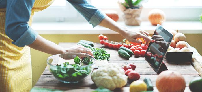 غذاهای خوب برای ترک اعتیاد را یادداشت کنید