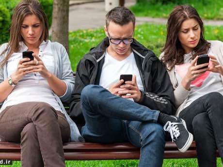 اعتیاد موبایل