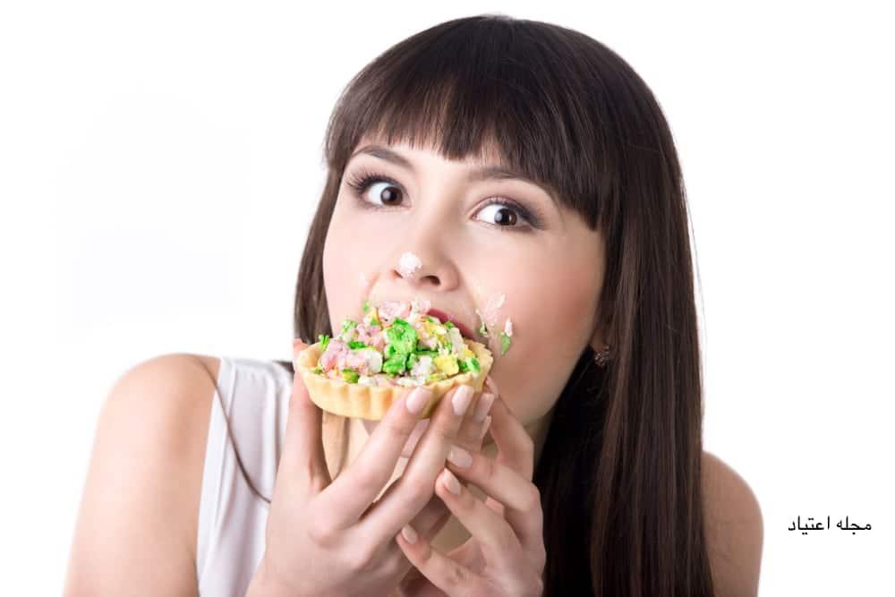 اعتیاد به غذا
