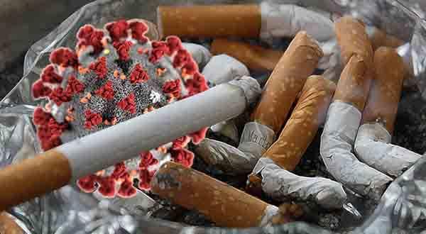 ترک سیگار در دوران کرونا