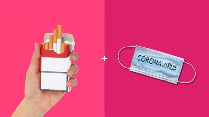کرونا و سیگار کشیدن