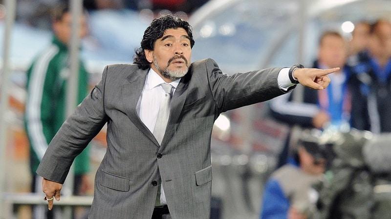مارادونا در سال های اخرعمرش