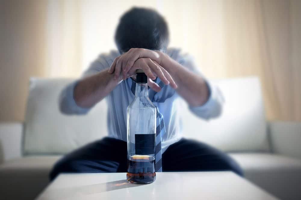 الکل قبل از خواب
